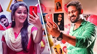 Valentine's Day Phone Kiss | Isai & Prabha | Best of Priyamanaval