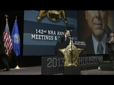 NRA Convention 2013: Gun Lobby Vows to Fight for 2nd Amendment Rights