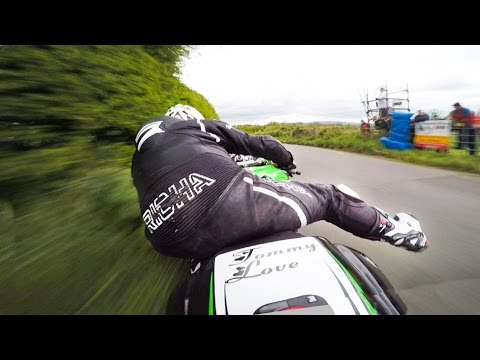 FAST⚡NARROW ROADS ✔️ -IRISH-ROAD-RACING-☘ . . (Isle of Man TT type racing)