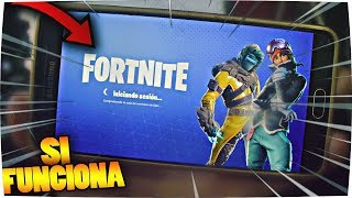 HOW TO PLAY FORTNITE FOR ANDROID *MOVIL Not Compatible* Full Incredible Method FREE