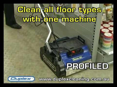 Duplex Floor Scrubber Steam Clean Flooring Efficiently