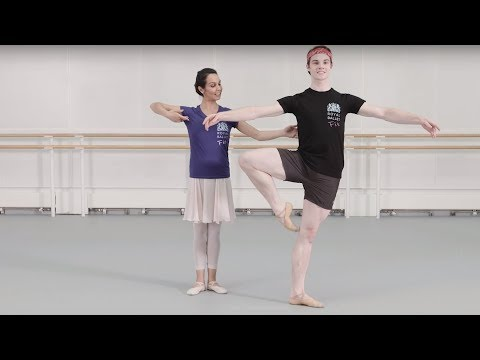 Royal Ballet Fit Episode 3 - Centre