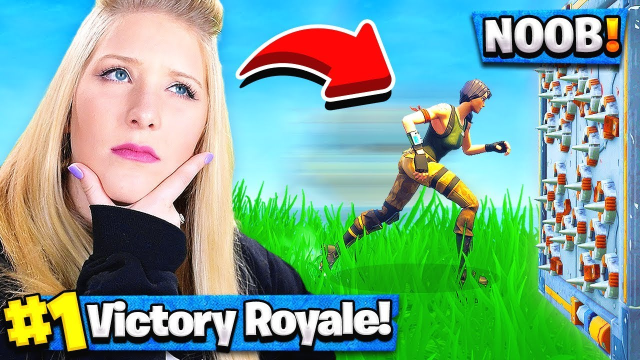 Teaching my wife how to play Fortnite