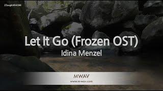 Idina Menzel-Let It Go (Frozen OST) (Melody) [ZZang KARAOKE]