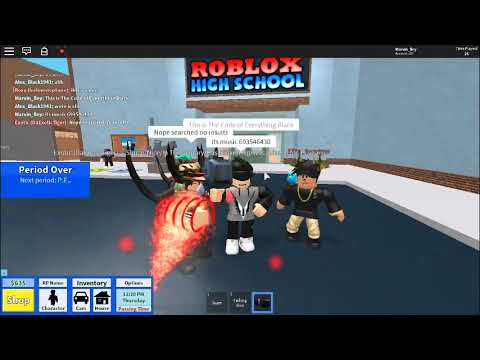 4f2f2d413452d2 Code Of Everything Black Boombox (Roblox High School) - YouTube