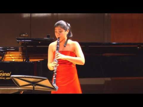 Messager's Solo de Concours for Clarinet and Piano