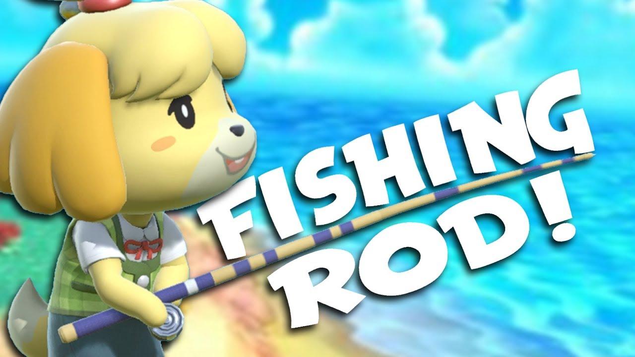 Animal Crossing Isabelle Porn I'll Do My Best isabelle's fishing rod! - breakdown(?)