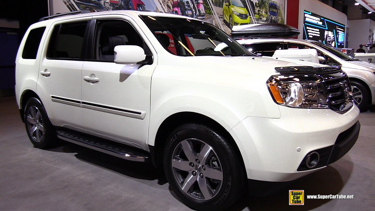 2015 Honda Pilot Touring 4WD   Exterior And Interior Walkaround   2015  Montreal Auto Show   YouTube Design Inspirations
