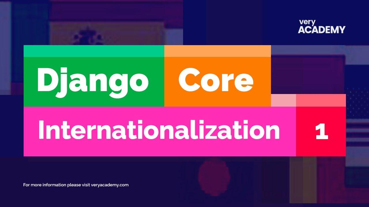 Python Django - Multiple Languages - Internationalization