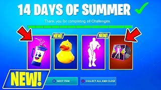 NEW! (DAY 2) OF 14 DAYS OF SUMMER IN FORTNITE! + FREE REWARDS LIVE! (USE CODE : itzSQUADTREK)