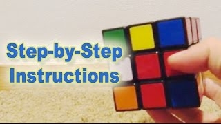 How To Solve a 3x3 Rubik's Cube - Step by step tutorial by 10 year old