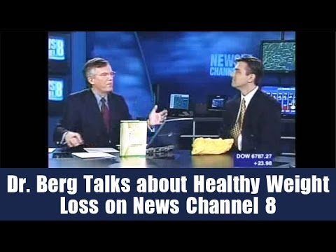 Dr. Berg Talks about Healthy Weight Loss on News Channel 8