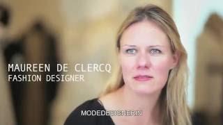 FALKE footprints: Visiting fashion designer Maureen De Clercq in Antwerp