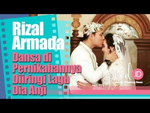 Rizal Armada Dansa di Pernikahannya Diiringi Lagu Dia Anji