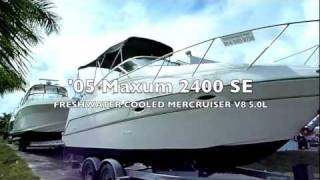 2005 Maxum 2400 SE - boatexport.com
