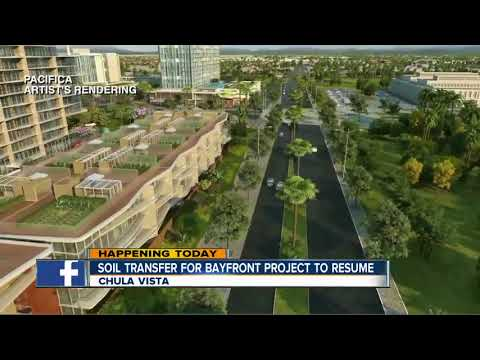 Soil transfer for Chula Vista bayfront project resumes