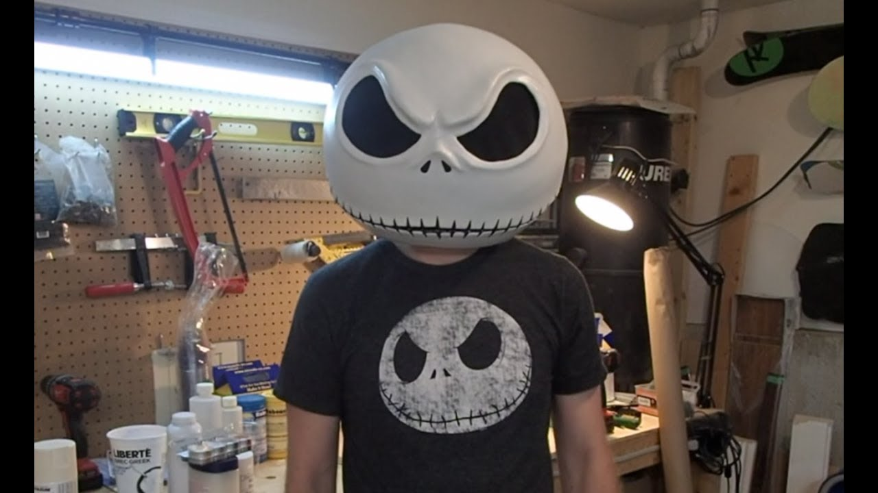 Diy jack skellington s body nightmare before christmas youtube - Jack Skellington Mask Making A Copy 1 Preperation