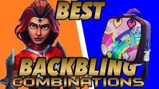 VALOR SKIN BEST BACKBLING COMBINATIONS! (Fortnite Battle Royale) (2018)