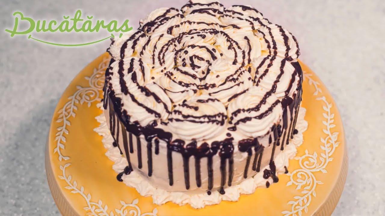 Reteta - Tort Spirala cu crema de cafea si  mascarpone | Bucataras TV