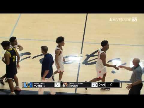Men's College Basketball - Riverside City College vs Fullerton College