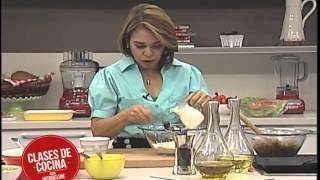 Clases de Cocina con Jacqueline Henriquez