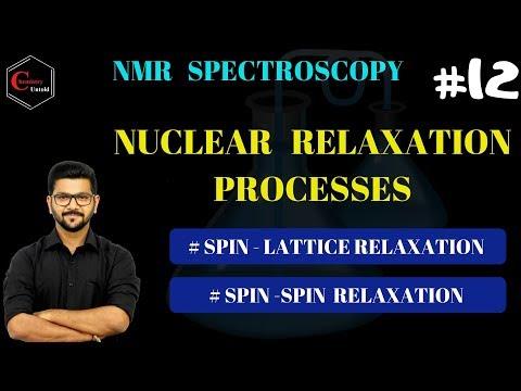 NMR SPECTROSCOPY -12 || NUCLEAR RELAXATION PROCESSES  || CSIR NET | IIT JAM | GATE ||