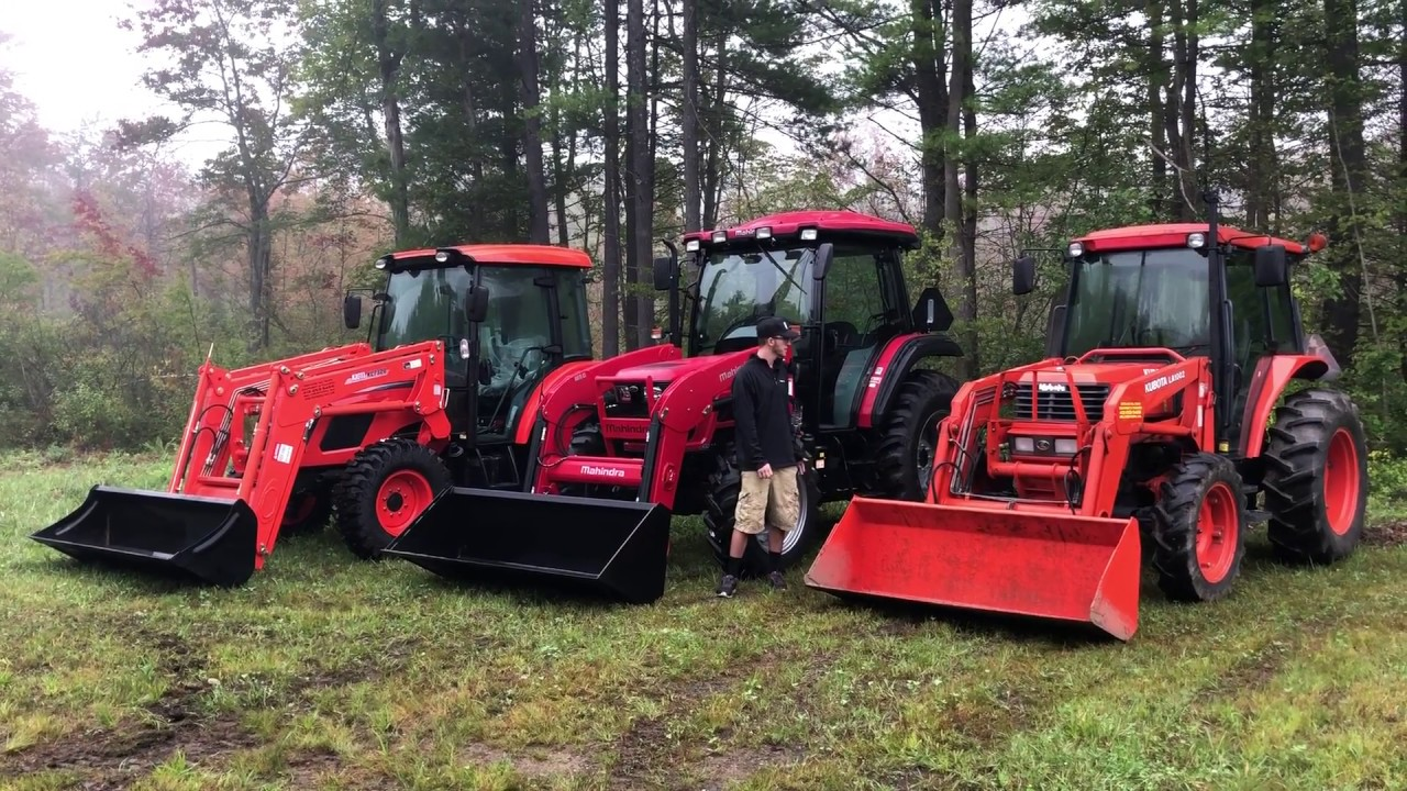 Youtube - Ag Utility Tractor Comparisons - Mahindra 6065