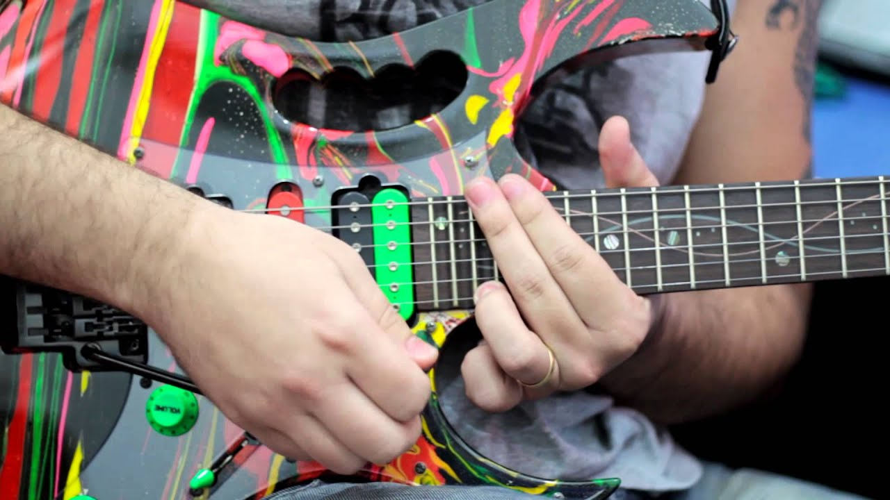 ibanez dna steve vai by maycon bianchi youtube
