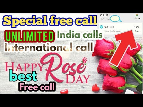 How To Make  2019 Special  Free Call India International Free Calls Unlimited Daily 80 Minutes Free