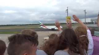 A380 Düsseldorf - A380 Flugzeug - Emirates A380 Düsseldorf