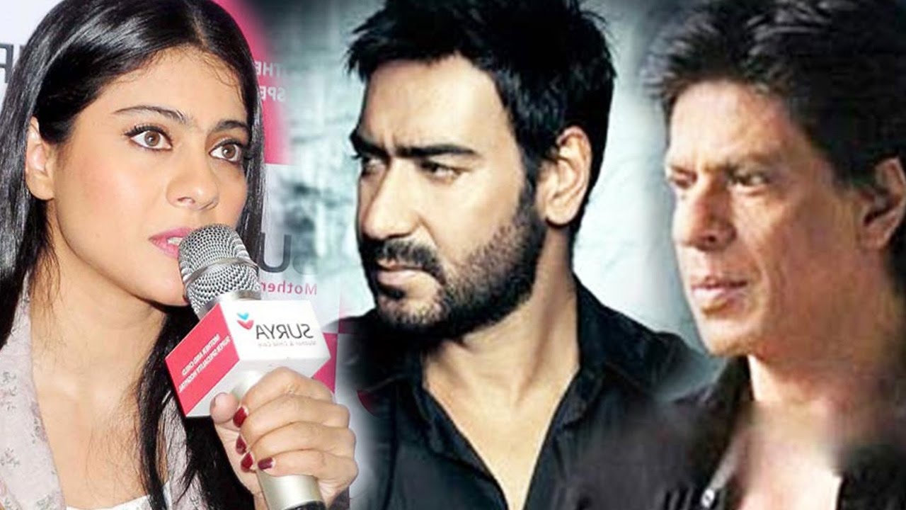 Kajol Finally Reveals TRUTH About Shah Rukh Khan and Ajay ...