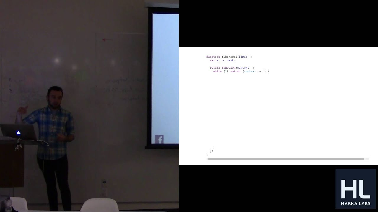 Regenerator, AST, and ES6 at Facebook (Tech Talk by Ben Newman)