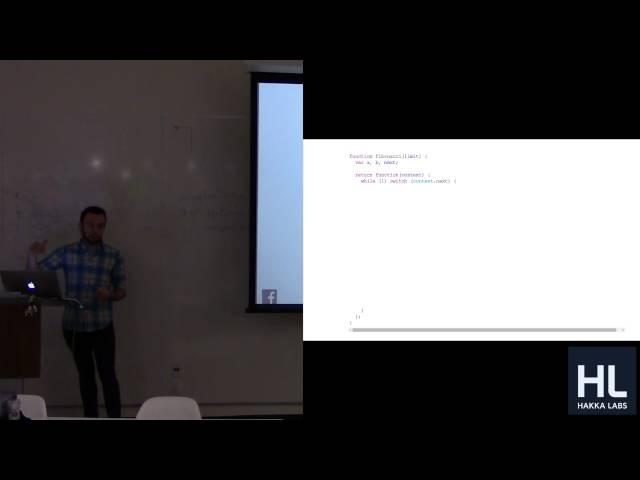 Regenerator, AST, and ES6 at Facebook (Tech Talk by Ben Newman)