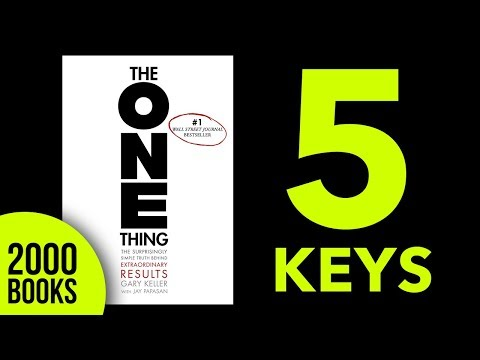 The One Thing Audiobook Summary Key ideas and Lessons - Gary Keller