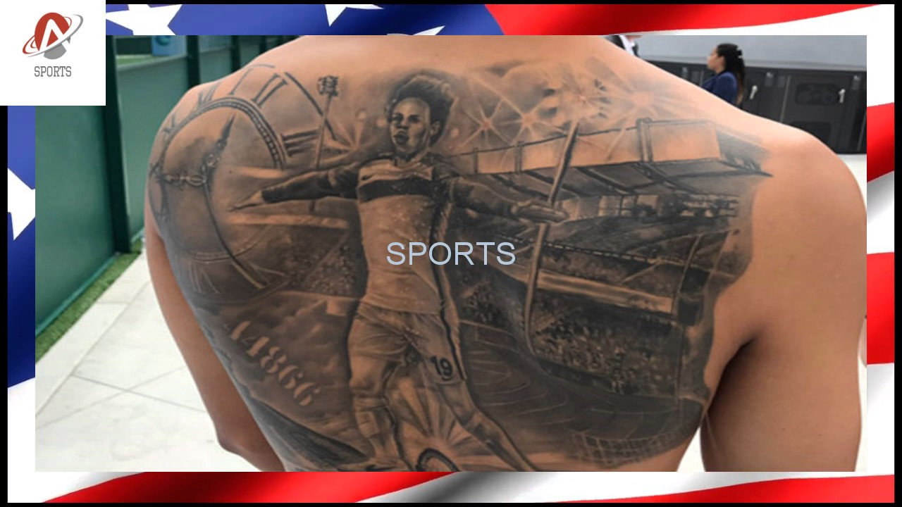 Fussball Leroy Sané Hat Ein Tattoo Von Sich Selbst