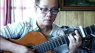 Áo Lụa Hà Đông (Ngô Thụy Miên - thơ: Nguyên Sa) - Guitar Cover by Hoàng Bảo Tuấn