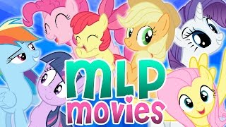 MLP Characters In The Movies | Harry Potter + Toy Story + Frozen And More!