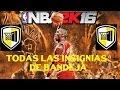NBA 2K16 - COMO CONSEGUIR TODAS LAS INSIGNIAS - BANDEJAS