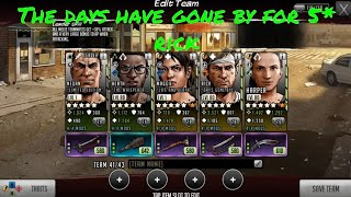 The Days have Gone by for 5* Rick - The Walking Dead: Road To Survival TWD