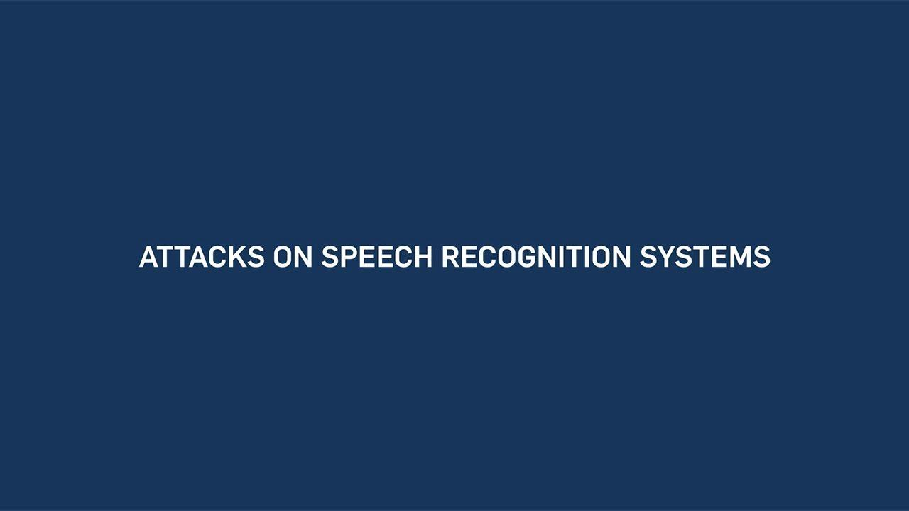 Secret messages for Alexa and Co  - Newsportal - Ruhr-Universität Bochum