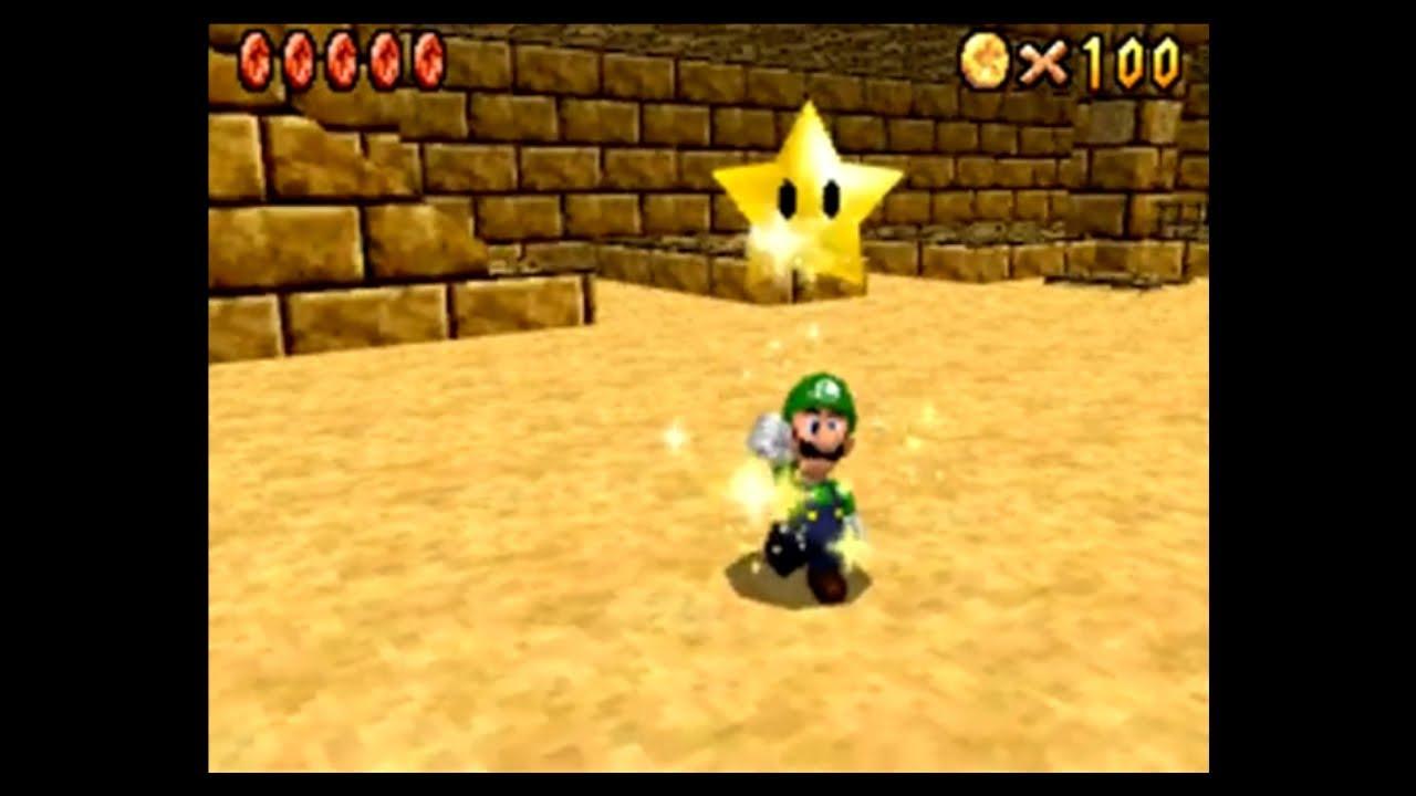 mario 64 shifting sand land 100 coins