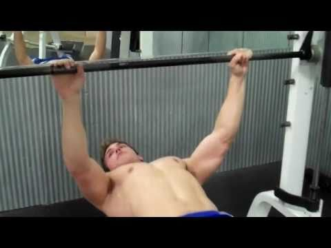How To: Smith Machine- Bench Press<a href='/yt-w/z_r6hDOYtO0/how-to-smith-machine-bench-press.html' target='_blank' title='Play' onclick='reloadPage();'>   <span class='button' style='color: #fff'> Watch Video</a></span>