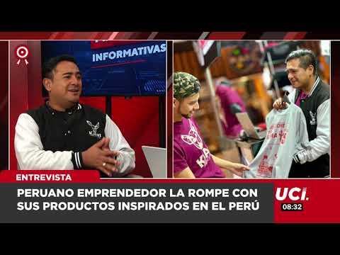 Peruano Emprendedor La Rompe Con Sus Productos Inspirados En El Perú