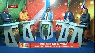 237 LE DEBAT(CRISES POLITIQUES EN AFRIQUE)DU MERCREDI 31 JUILLET 2019 - ÉQUINOXE TV