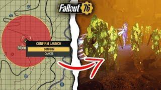 Fallout 76 | What Happens if You Nuke Monongah Town? (Fallout 76 Secrets)