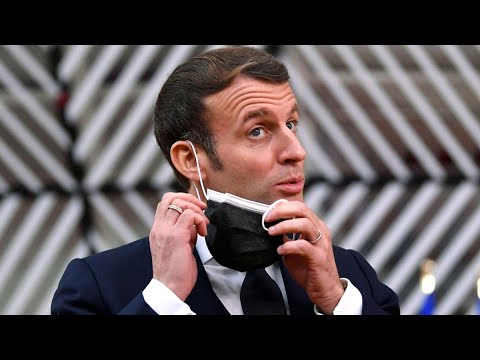 Photo of France's President Macron Tests Positive for Covid-19