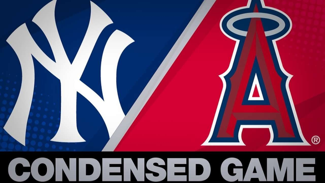 Download Condensed Game: NYY@LAA - 4/24/19
