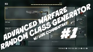 Random Class Generator w/ Live Commentary #1 (CoD:AW)