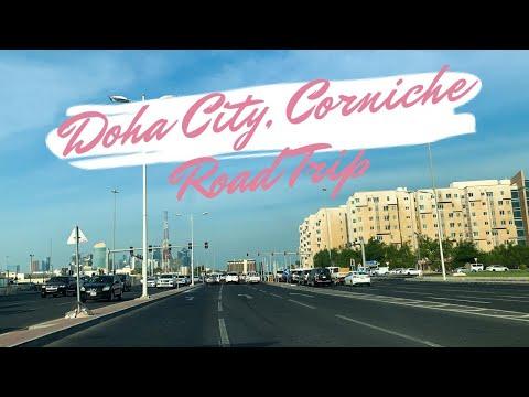 DOHA CITY DRIVE || CORNICHE ROAD || DRIVING IN QATAR