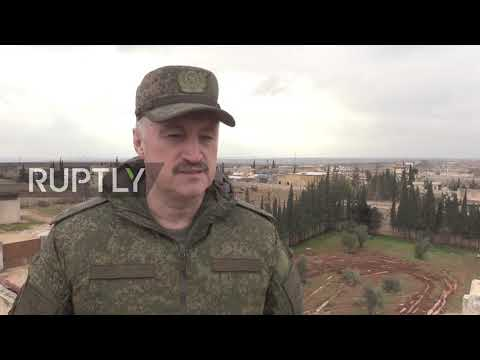 Syria: Russian Military police expand Manbij area patrol near Turkish border